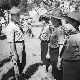 Boy scouts at Lockleys