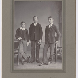 Portrait of Colin, Ross and Keith Smith