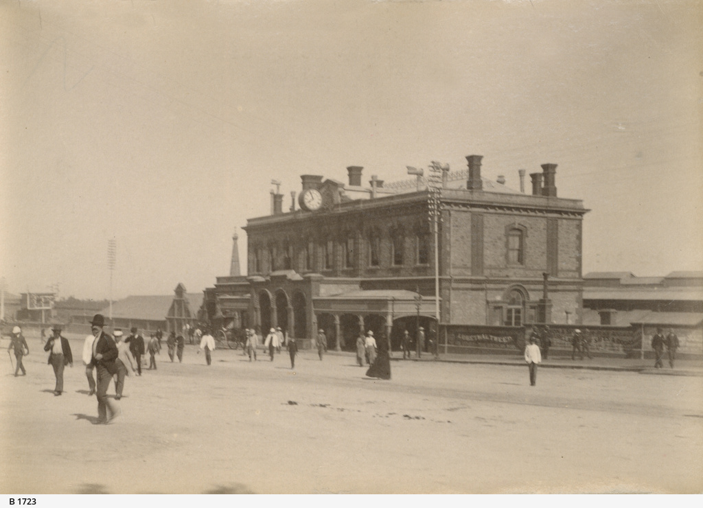 Railway Station, Adelaide