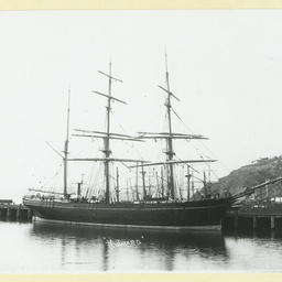 The 'Howard' at Port Chalmers