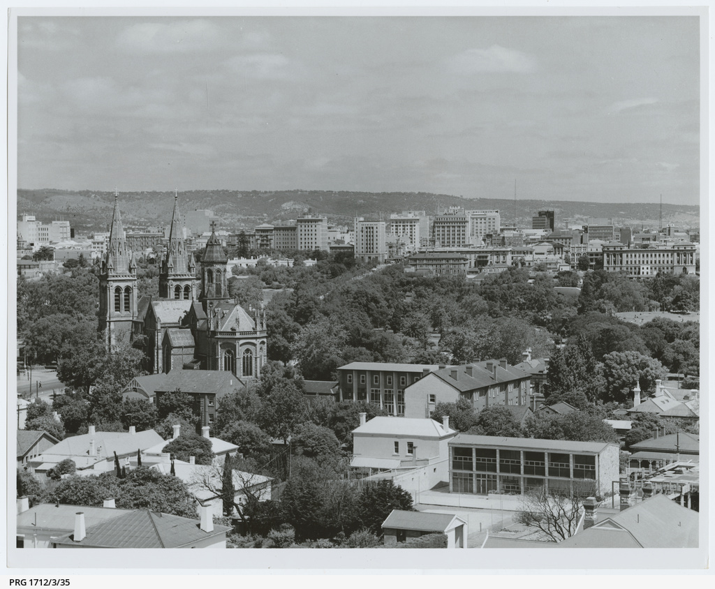 Adelaide city from North Adelaide