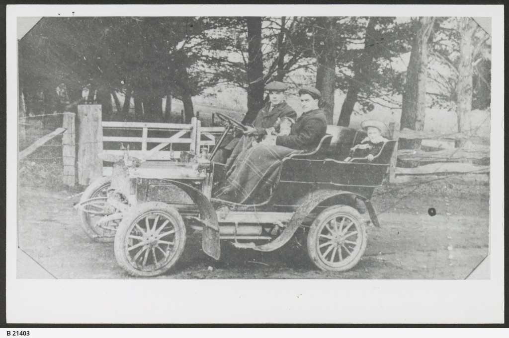 """Talbot"" Car at Mount Gambier"