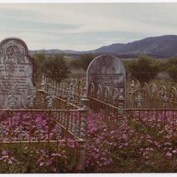 Marea Dorothea & Johann Andreas Raneberg headstones