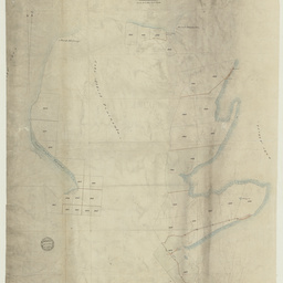 [Map showing sections in]County of Russell, Hundred of the Murray [cartographic material]