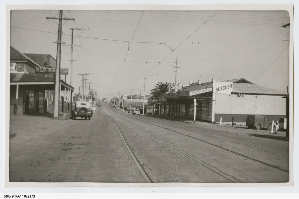 View along Prospect Road Date ca.1935,1956
