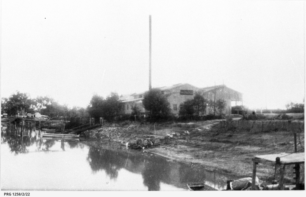 View across river to Berri pumping station