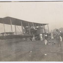 Vickers Vimy at Calcutta