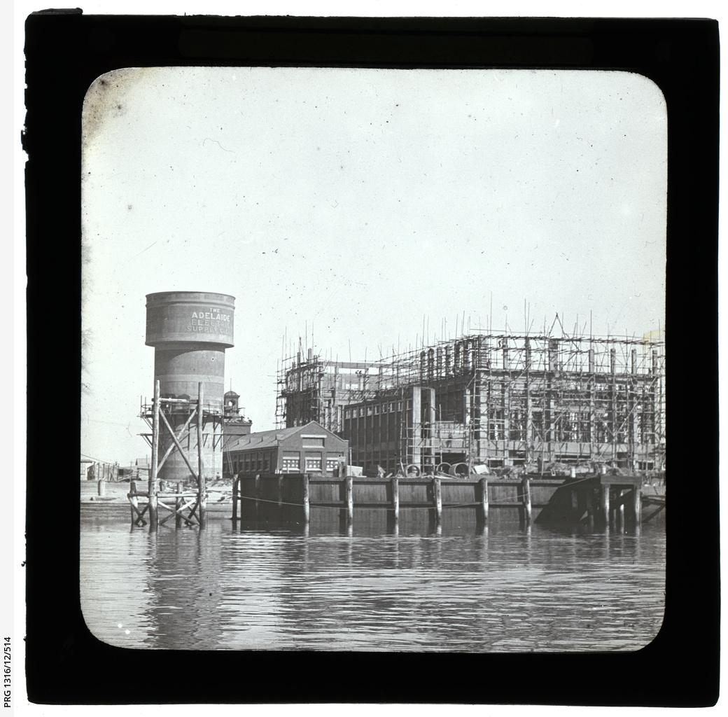 Construction of Osborne power station