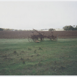 19th century plough in Tothill Rangers