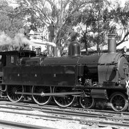 A F251 train at Blackwood Railway Station