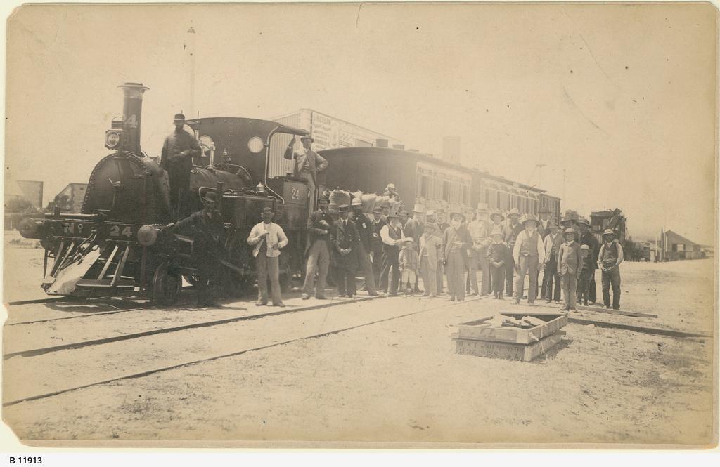 G class locomotive at Goolwa