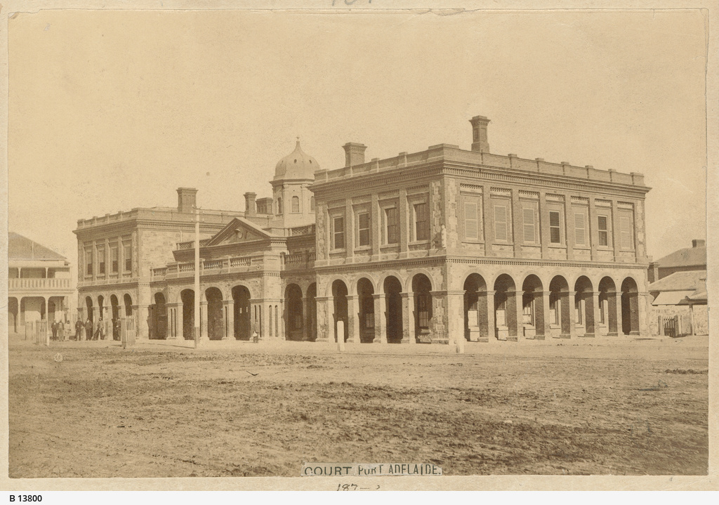 Court House at Port Adelaide