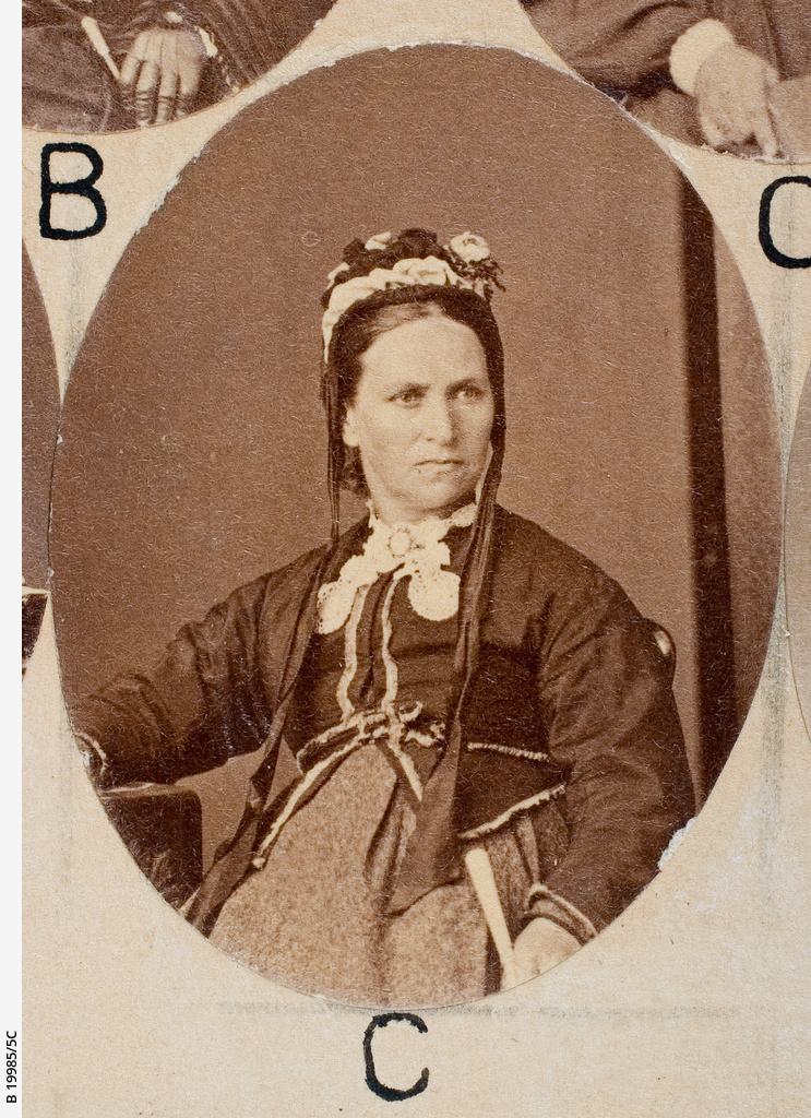 Group of [women] Old Colonists : Ann Tapp