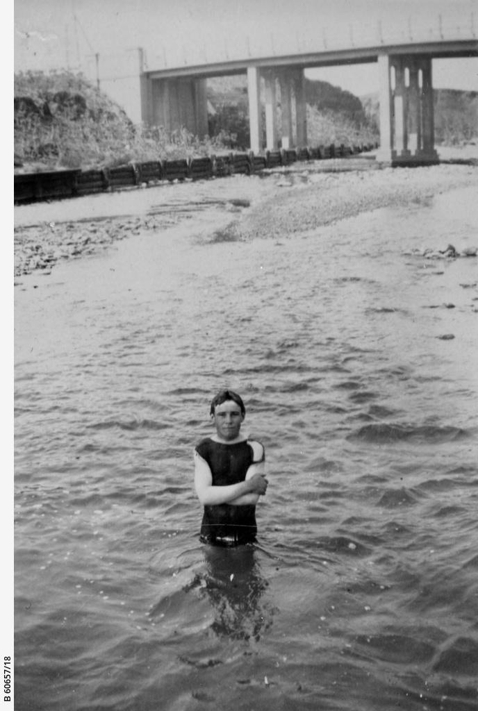 Boy in river