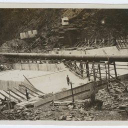 Construction of Mount Bold Dam