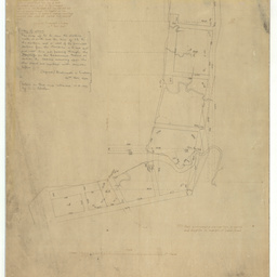 Tracing from Plan of the survey of section 'A' Port Adelaide made by Messrs. Hindmarsh & Lindsay [cartographic material]