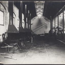 The blacksmiths' workshop at MTT