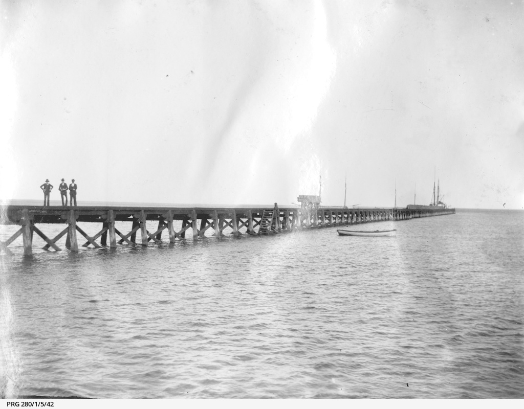 Jetty at Ardrossan