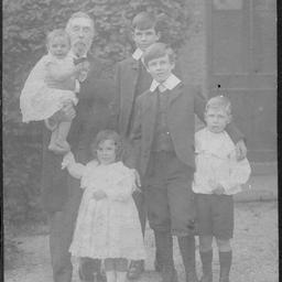 Charles Todd and grandchildren