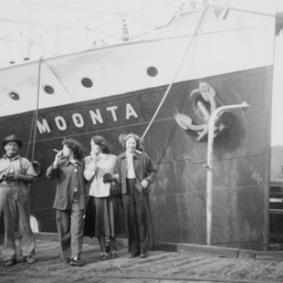 MV Moonta at Port Pirie
