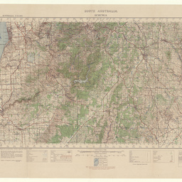 South Australia, Echunga [cartographic material] : no. 820, zone 6, sheet south I 54, S II NE & NW / prepared by Australian Section Imperial General Staff