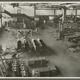 A68 Mustangs under construction.