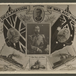 Souvenir Declaration of War, August 1914