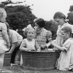 Group of children playing