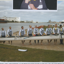 Port Adelaide Rowing Club Men's Master Eight Championship