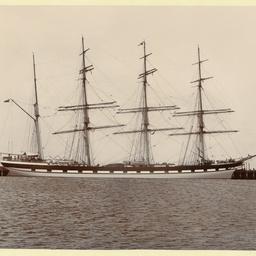 The 'Loch Carron' docked in an unidentified port
