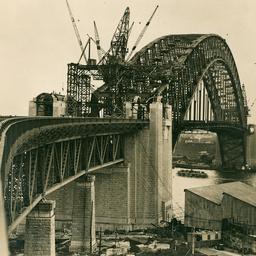 Sydney Harbour Bridge approach