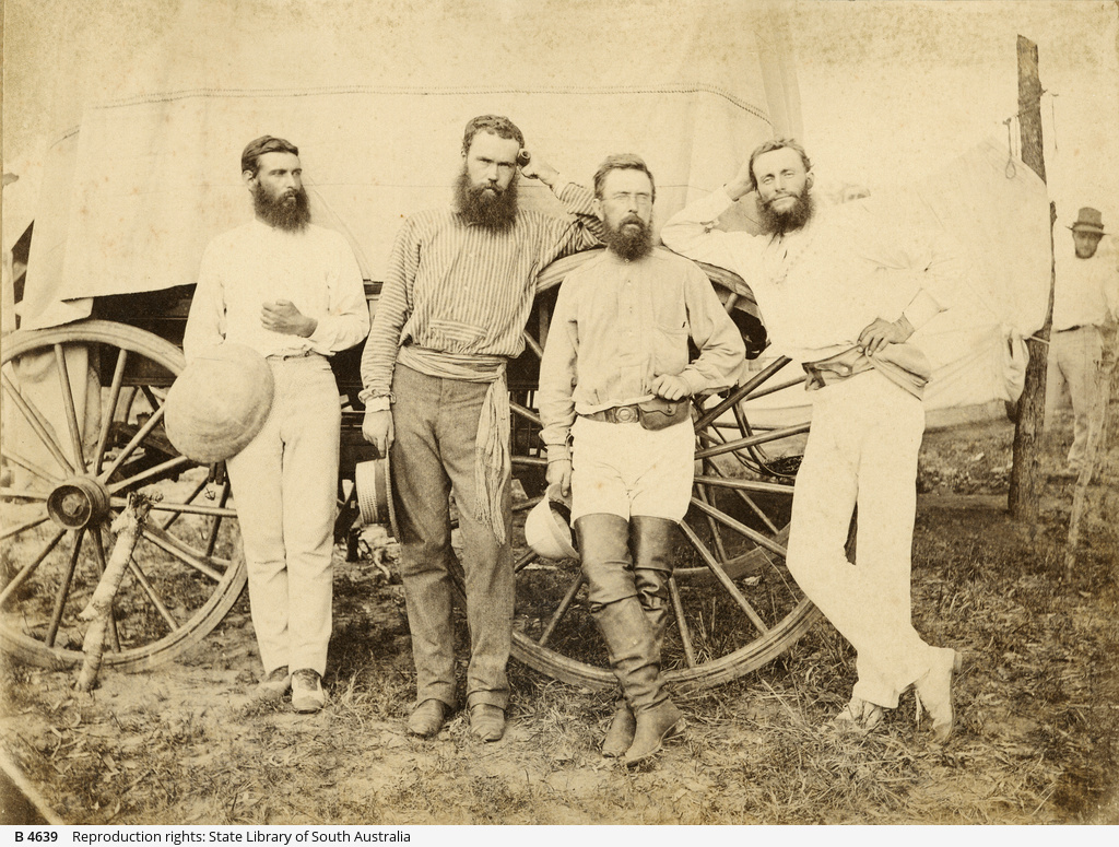 Overland Telegraph construction party