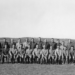Officers of the 43/48 Battalion