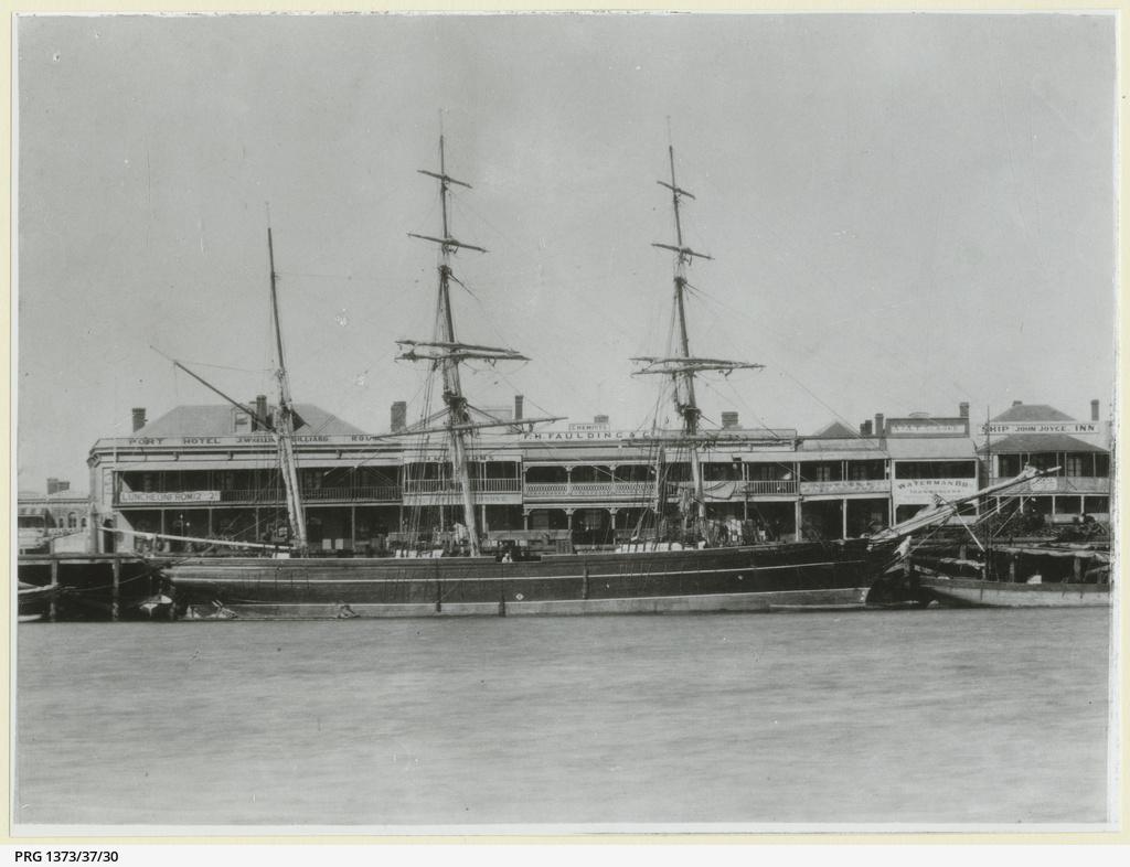 The 'Hannah Nicholson' at Port Adelaide
