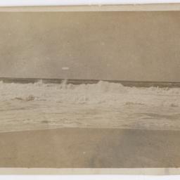 Waves along a beach near Foqa.
