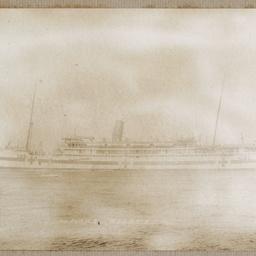 World War One album of hospital ships, medical officers and nurses
