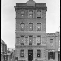 Grenfell Street corner of Coromandel Place