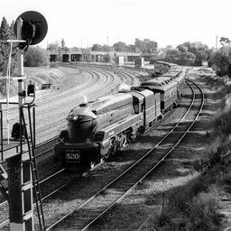 Steam Ranger 520 returning to Dry Creek Depot