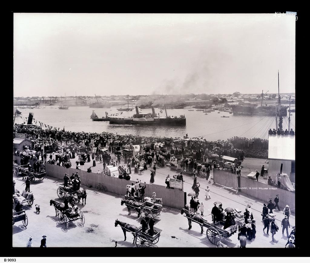 Troopship, Port Adelaide