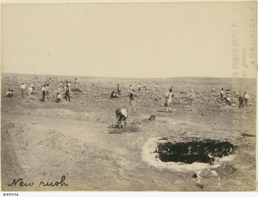 'New rush' on the Teetulpa gold field