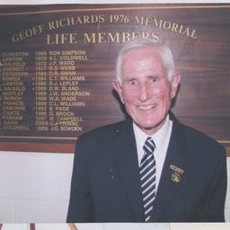 Life member John G. Bowden