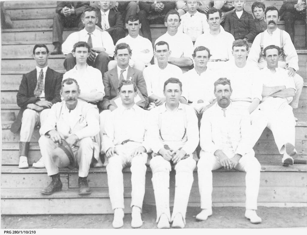 Members of the Bungaree cricket team