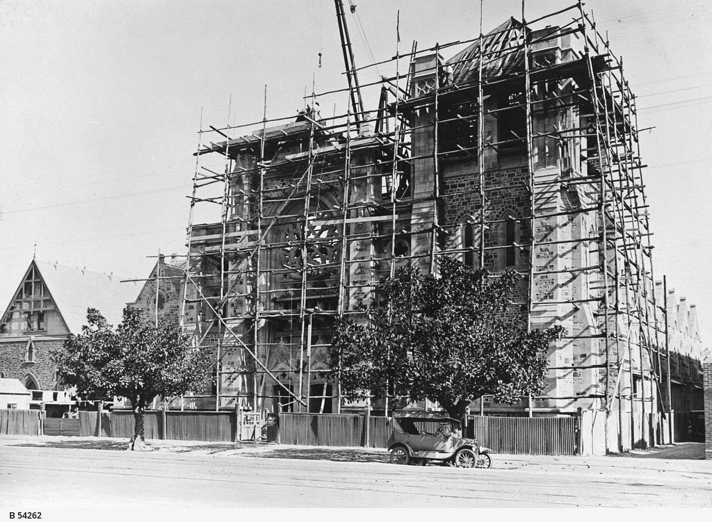 Construction of St Francis Xavier's Cathedral