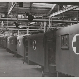 Field ambulance bodies.