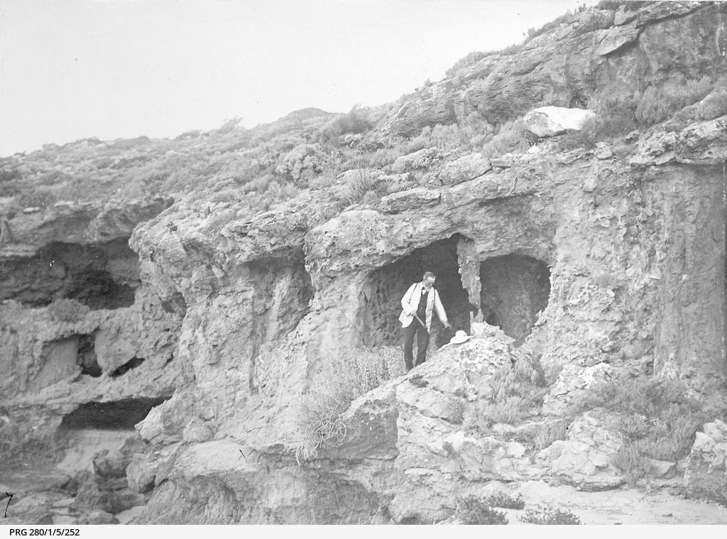 Walter Howchin on Wedge Island