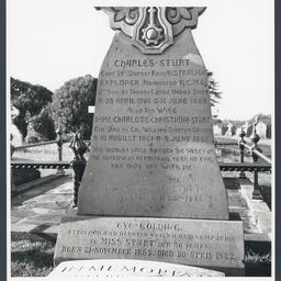 Gravestone of the Sturt family