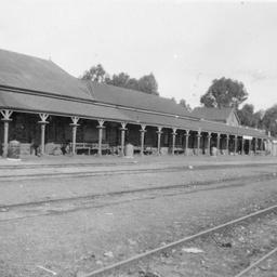 Railway station at Brinkworth