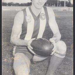 Footballer John Riley