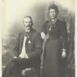Portrait of Sarah Sheppard and William Murdock