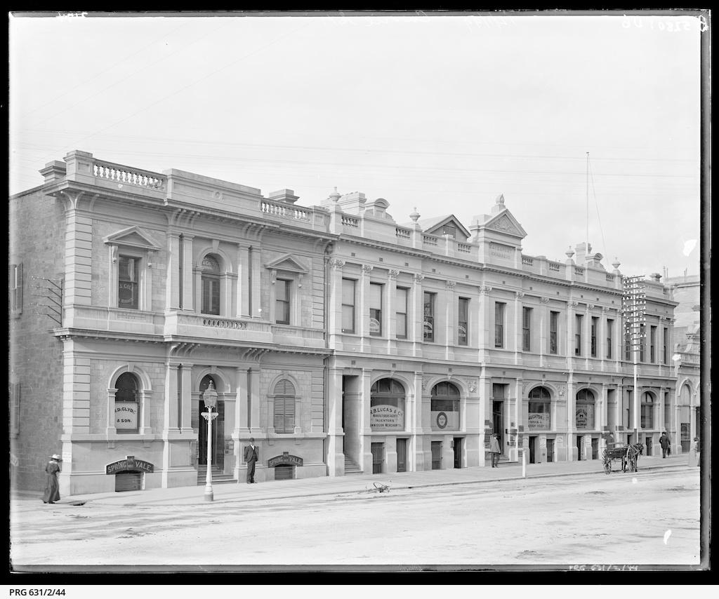 Currie Street corner of Peel Street
